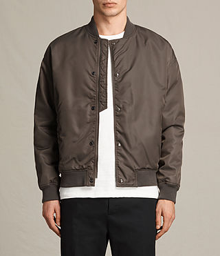 Hombre Kitson Bomber Jacket (Khaki Brown) - product_image_alt_text_1