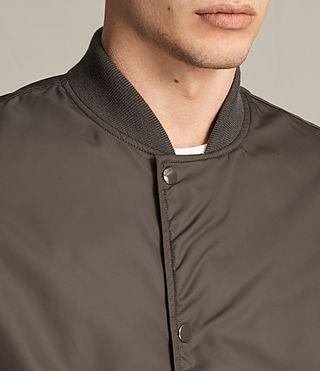 Mens Kitson Bomber Jacket (Khaki Brown) - product_image_alt_text_2