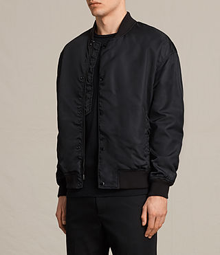 Men's Kitson Bomber Jacket (Black) - product_image_alt_text_3