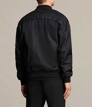 Men's Kitson Bomber Jacket (Black) - product_image_alt_text_4