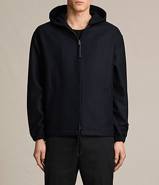 Mens Umeko Hooded Jacket (INK NAVY)