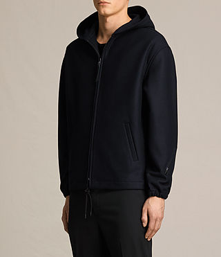 Hombres Umeko Hooded Jacket (INK NAVY) - product_image_alt_text_3