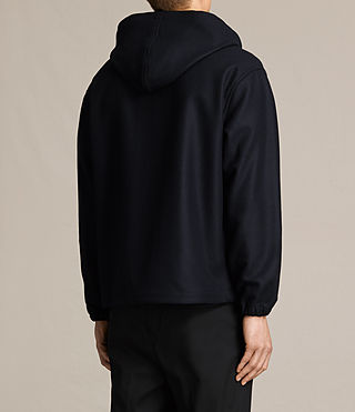 Hombres Umeko Hooded Jacket (INK NAVY) - product_image_alt_text_4