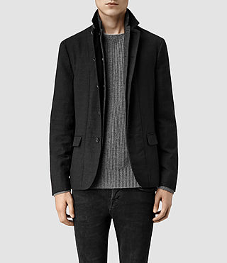 Mens Shiro Blazer (Black)
