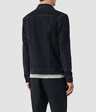 Mens Durness Denim Jacket (Black) - product_image_alt_text_4