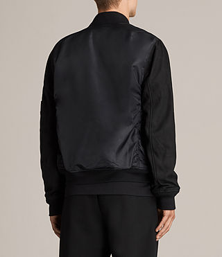 Men's Bate Bomber Jacket (Black) - Image 5