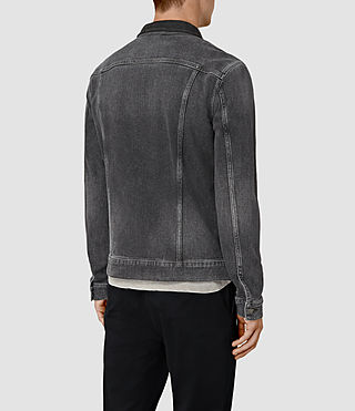 Hombre Creagan Denim Jacket (Grey) - product_image_alt_text_4