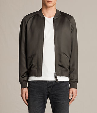 Mens Yuki Bomber Jacket (Khaki Green)
