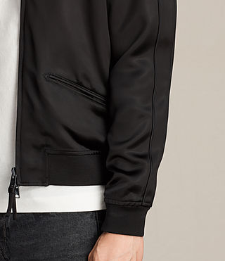 Mens Yuki Bomber Jacket (Black) - product_image_alt_text_4