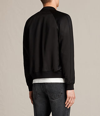 Mens Yuki Bomber Jacket (Black) - product_image_alt_text_6
