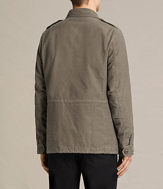 Mens Pearce Jacket (Khaki Green) - product_image_alt_text_5
