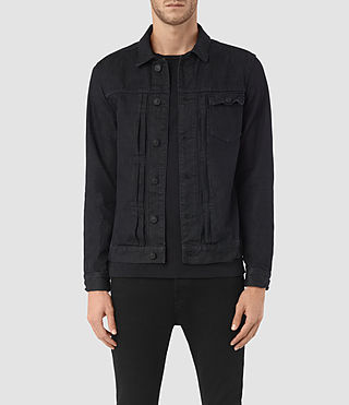 Herren Rill Denim Jacket (Indigo Blue)