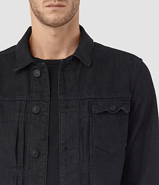 Uomo Rill Denim Jacket (Indigo Blue) - product_image_alt_text_2