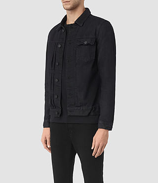 Uomo Rill Denim Jacket (Indigo Blue) - product_image_alt_text_3