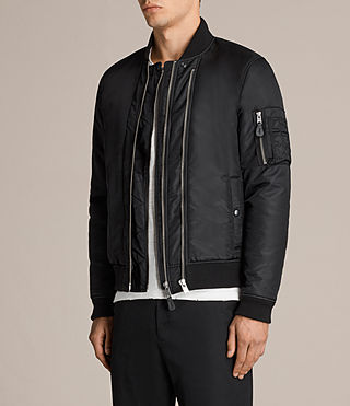 Hommes Bellevue Bomber (INK NAVY) - product_image_alt_text_3