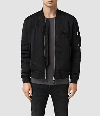 Mens Kyushu Jacket (Black) - product_image_alt_text_1