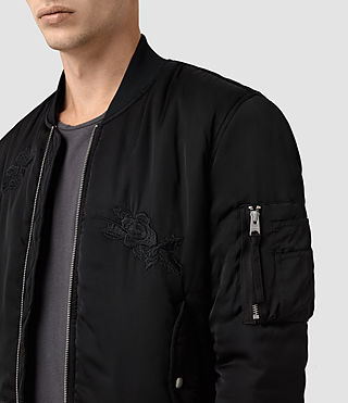 Mens Kyushu Jacket (Black) - product_image_alt_text_2