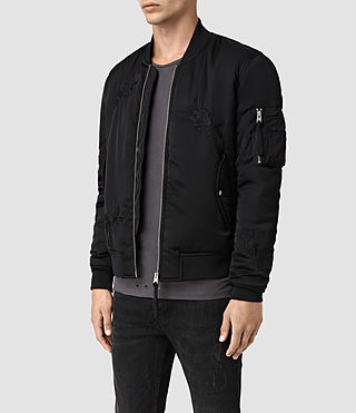Mens Kyushu Jacket (Black) - product_image_alt_text_3