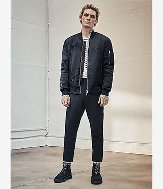 Men's Kyushu Jacket (Black) - product_image_alt_text_5