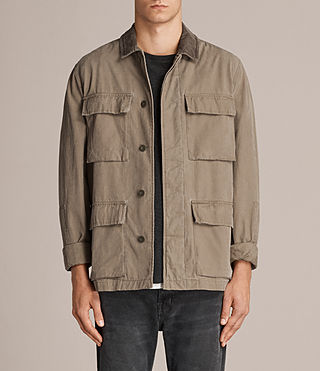 Men's Dyers Jacket (Khaki Green) - Image 1