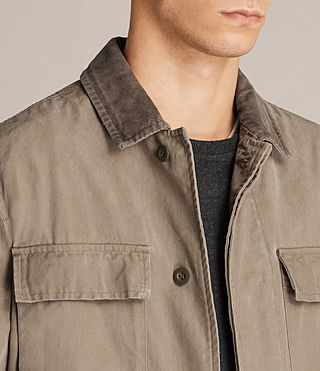 Men's Dyers Jacket (Khaki Green) - Image 2