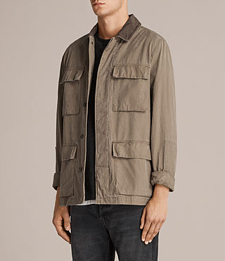 Men's Dyers Jacket (Khaki Green) - Image 3