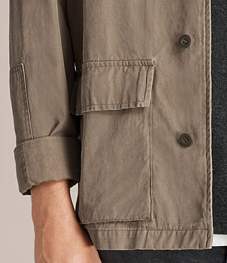 Men's Dyers Jacket (Khaki Green) - Image 4
