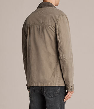 Men's Dyers Jacket (Khaki Green) - Image 5