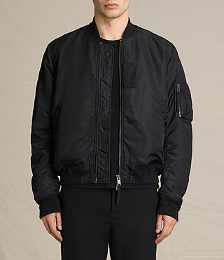 Mens Henson Bomber Jacket (INK NAVY) - product_image_alt_text_1