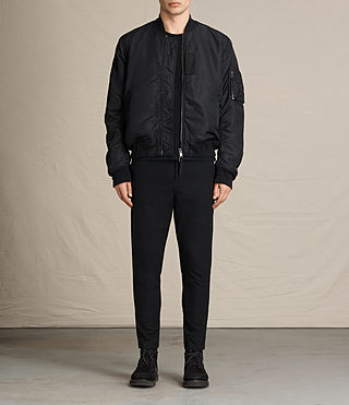 Hombre Henson Bomber Jacket (INK NAVY) - product_image_alt_text_3
