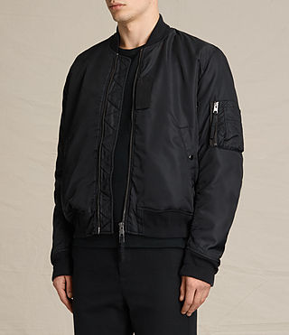 Mens Henson Bomber Jacket (INK NAVY) - product_image_alt_text_4