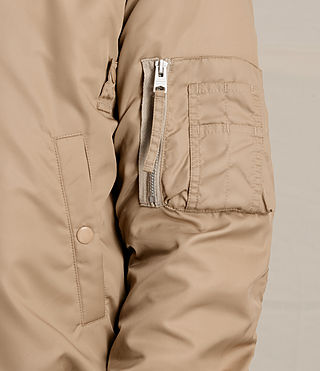 Herren Henson Bomber Jacket (Gold) - product_image_alt_text_2