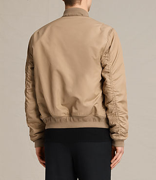 Mens Henson Bomber Jacket (Gold) - product_image_alt_text_5