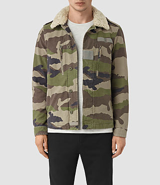 Mens Rhiley Jacket (KHAKI BROWN CAMO)