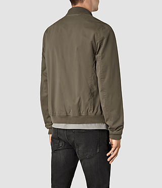 Hombres Hearn Bomber Jacket (DARK ARMY GREEN) - product_image_alt_text_4