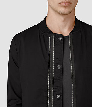 Hombres Hearn Bomber Jacket (Black) - product_image_alt_text_2