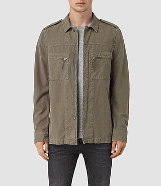 Mens Ari Jacket (Khaki Green)