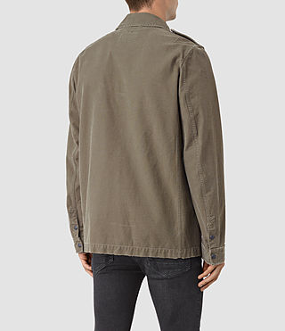 Hommes Ari Jacket (Khaki Green) - product_image_alt_text_3