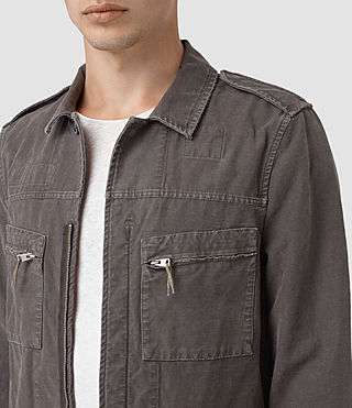 Hombres Ari Jacket (ANTHRACITE GREY) - product_image_alt_text_2