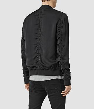 Hombres Moyle Bomber Jacket (Black) - product_image_alt_text_3