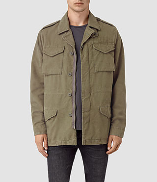 Mens Bale Jacket (Khaki Green)