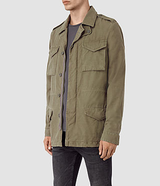 Uomo Bale Jacket (Khaki Green) - product_image_alt_text_3