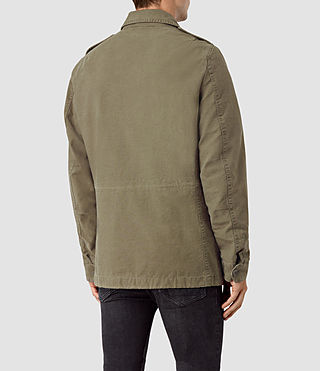 Uomo Bale Jacket (Khaki Green) - product_image_alt_text_4