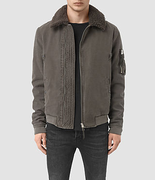 Hommes Sol Jacket (ANTHRACITE GREY) -