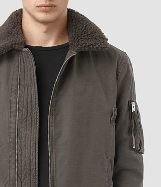 Men's Sol Jacket (ANTHRACITE GREY) - product_image_alt_text_2