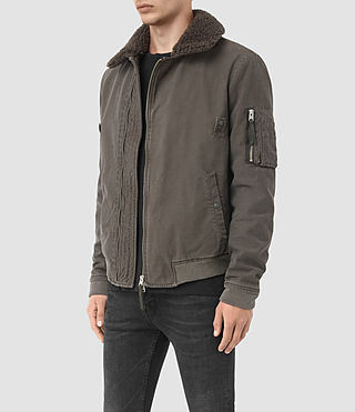 Men's Sol Jacket (ANTHRACITE GREY) - product_image_alt_text_3