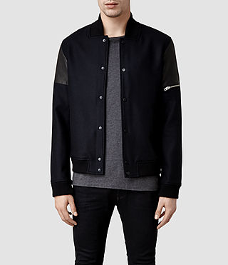 Mens Draft Bomber Jacket (Dark Ink)