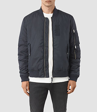 Mens Soven Bomber Jacket (INK NAVY)
