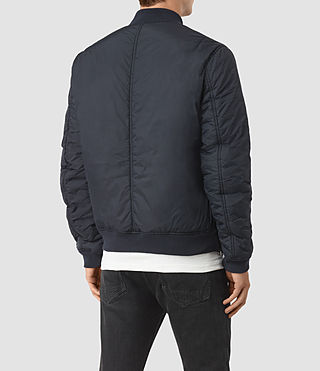 Men's Soven Bomber Jacket (INK NAVY) - product_image_alt_text_4