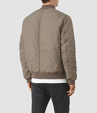 Men's Soven Bomber Jacket (Taupe Brown) - product_image_alt_text_4